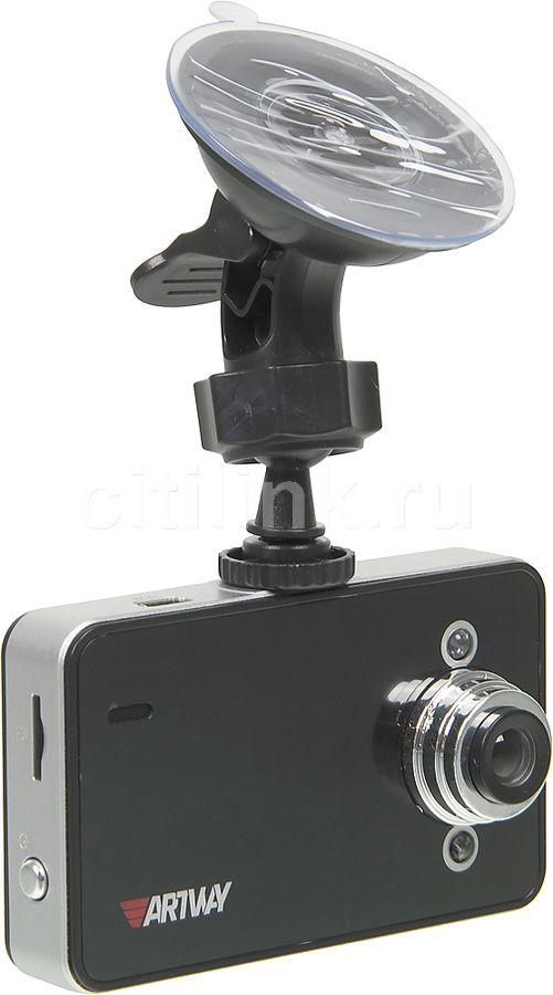 Видеорегистратор Artway AV-110 черный 3Mpix 720x1280 120гр. GP6624 (отремонтированный)