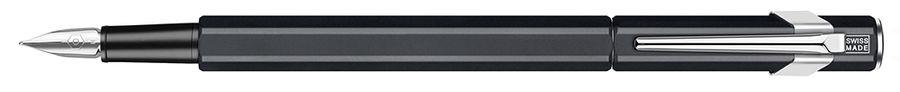 Ручка перьевая Carandache Office 849 Classic (842.009) Matte Black EF сталь нержавеющая подар.кор.