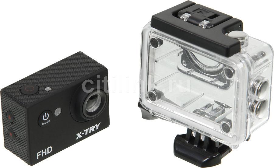 Экшн-камера X-Try XTC110 1xCMOS 8Mpix черный(Б/У)