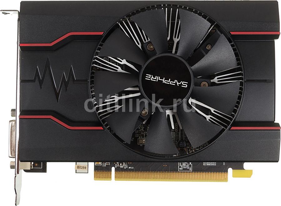 Видеокарта SAPPHIRE Radeon RX 550,  11268-03-20G RX 550 2G OC,  2Гб, GDDR5, OC,  Ret
