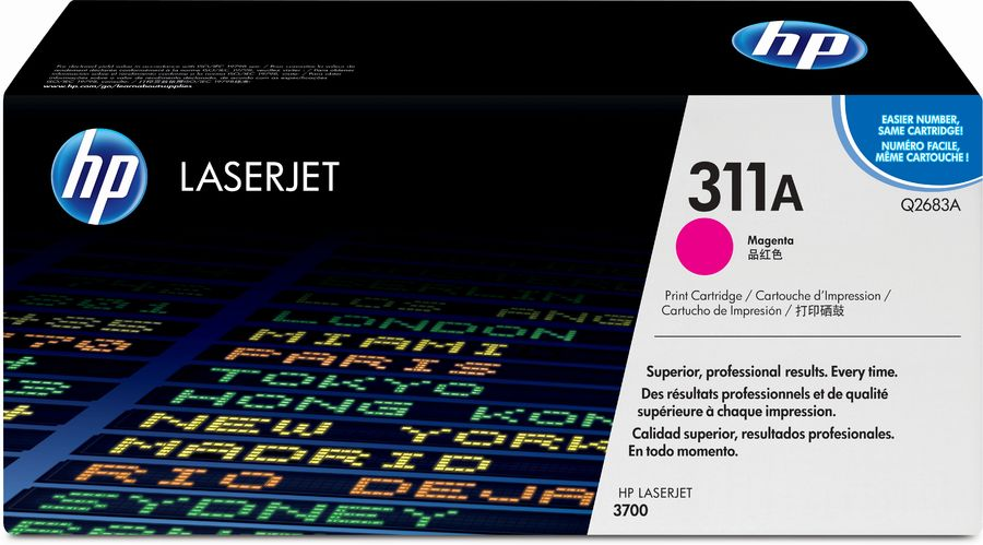 Картридж HP Q2683A пурпурный