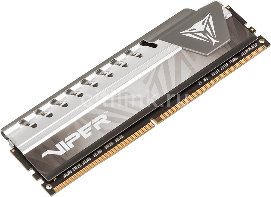 Модуль памяти PATRIOT Viper Elite PVE48G213C4GY DDR4 -  8Гб 2133, DIMM,  Ret