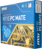 Материнская плата MSI H110 PC MATE Soc-1151 Intel H110 2xDDR4 ATX AC`97 8ch(7.1) G (отремонтированный) вид 6