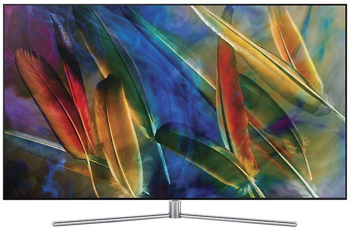 "QLED-телевизор SAMSUNG QE49Q7FAMUXRU  ""R"", 49"", Ultra HD 4K (2160p),  серебристый"