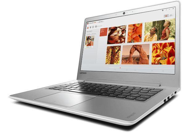 "Ноутбук LENOVO IdeaPad 510S-13IKB, 13.3"", Intel  Core i5  7200U 2.5ГГц, 8Гб, 128Гб SSD,  Intel HD Graphics  620, Windows 10, 80V0005VRK,  белый"