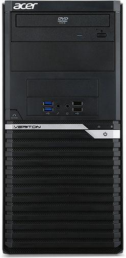 Компьютер  ACER Veriton M4650G,  Intel  Core i7  6700,  DDR4 16Гб, 1000Гб,  128Гб(SSD),  NVIDIA Quadro K2200 - 4096 Мб,  DVD-RW,  Free DOS,  черный [dt.vq9er.038]