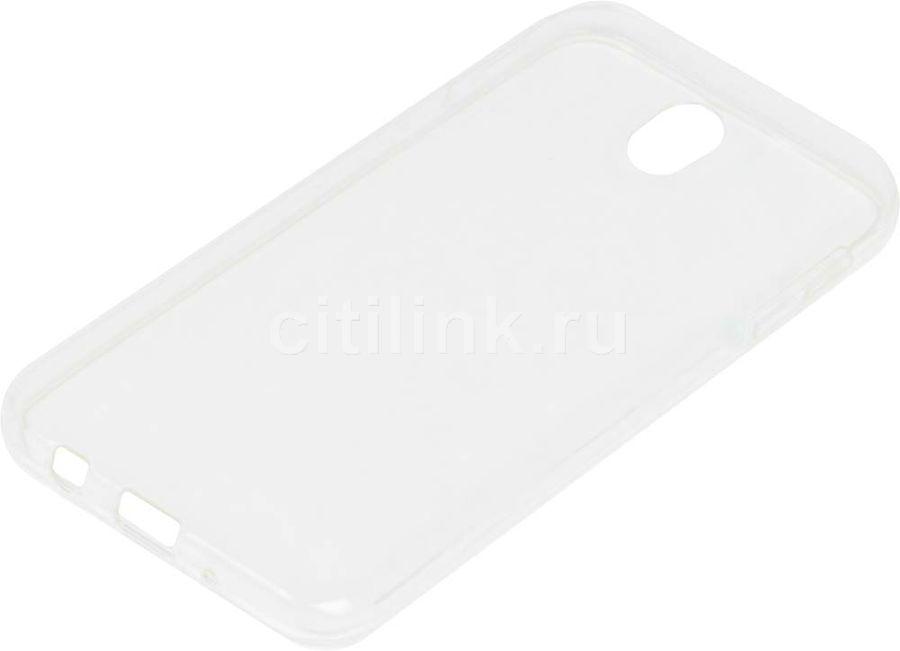 Чехол (клип-кейс) REDLINE iBox Crystal, для Samsung Galaxy J7 (2017), прозрачный [ут000010448]