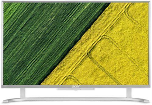 Моноблок ACER Aspire C22-720, Intel Celeron J3060, 4Гб, 1000Гб, Intel HD Graphics 400, Windows 10, серебристый [dq.b7aer.006]