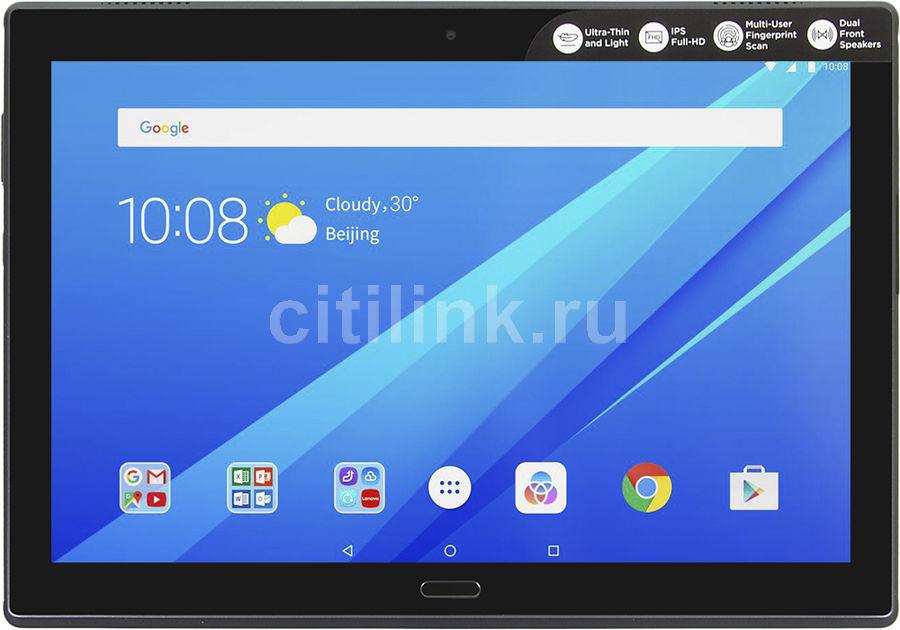Планшет LENOVO Tab 4 Plus TB-X704L,  3Гб, 16GB, 3G,  4G,  Android 7.0 черный [za2r0018ru]