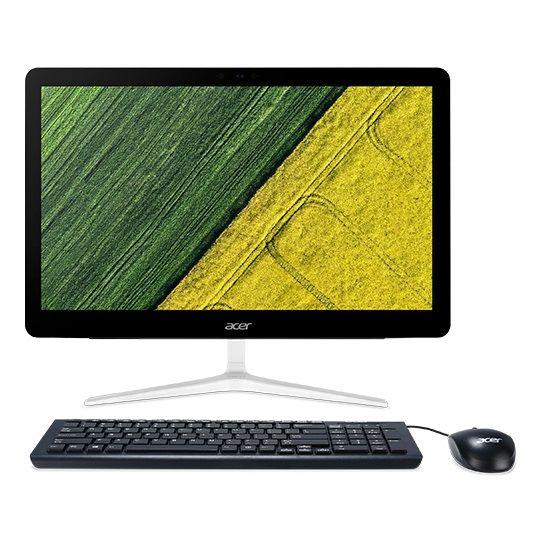 Моноблок ACER Aspire Z24-880, Intel Core i5 7400T, 8Гб, 1Тб, NVIDIA GeForce 940MX - 2048 Мб, DVD-RW, Windows 10, черный [dq.b8ter.002]