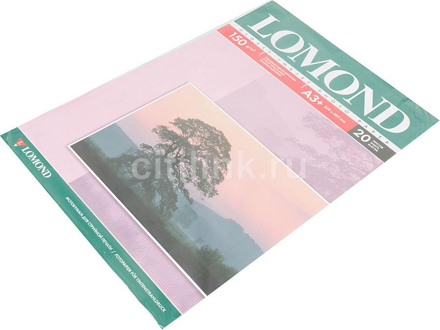 Бумага Lomond 0102026 A3+/150г/м2/20л./белый глянцевое для струйной печати