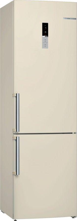Холодильник BOSCH KGE39XK2OR,  двухкамерный, бежевый