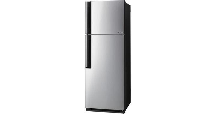 Холодильник SHARP SJ-XE39PMSL,  двухкамерный,  серебристый