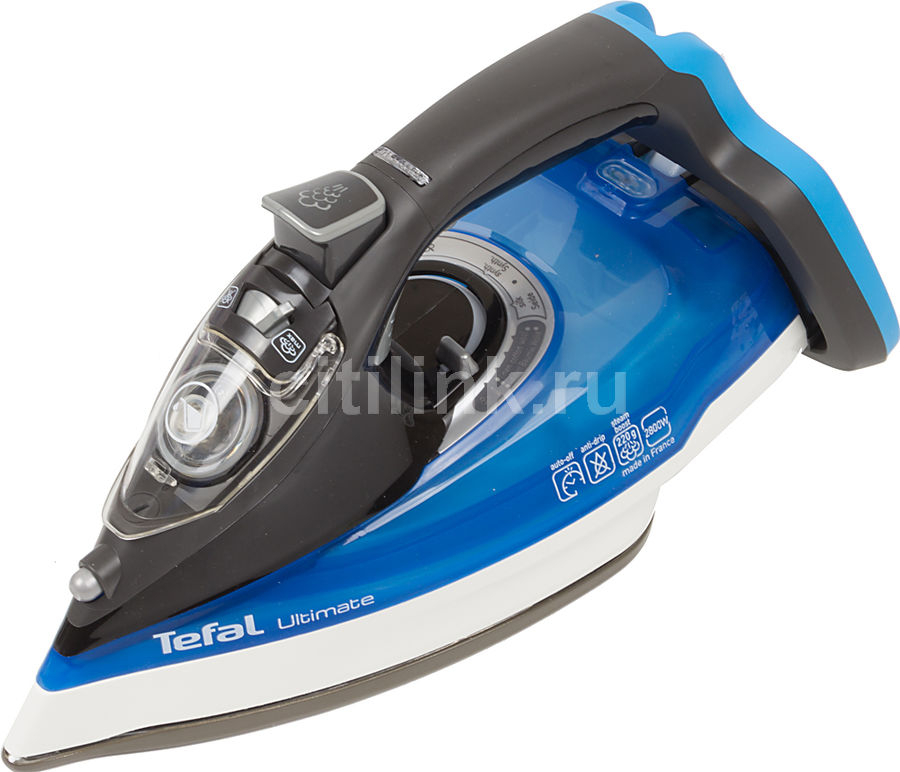Утюг Tefal FV9715E0 2800Вт синий/черный(Б/У)