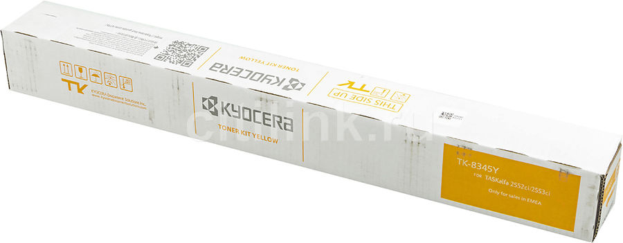 Картридж KYOCERA 1T02L7ANL0 желтый [tk-8345y]
