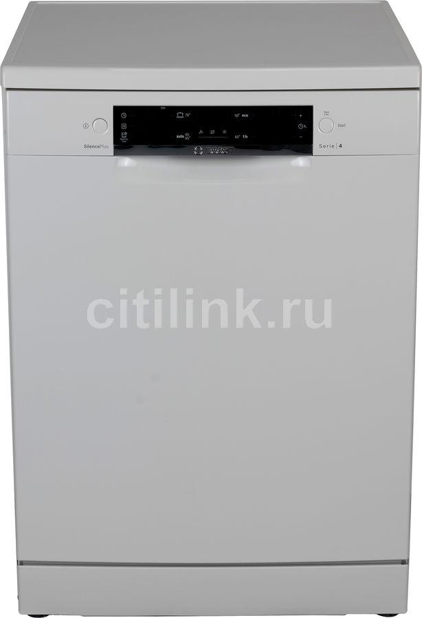 Посудомоечная машина BOSCH SMS44GW00R,  полноразмерная, белая