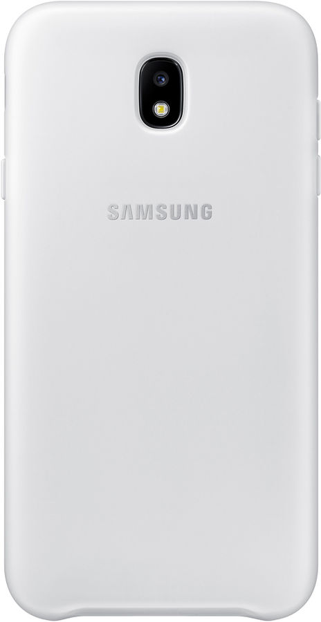 Чехол (клип-кейс) SAMSUNG Dual Layer Cover, для Samsung Galaxy J7 (2017), белый [ef-pj730cwegru]