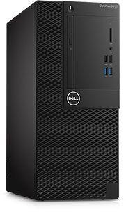 Компьютер  DELL Optiplex 3050,  Intel  Core i5  6500,  DDR4 4Гб, 500Гб,  Intel HD Graphics 530,  DVD-RW,  Windows 7 Professional,  черный [3050-0368]