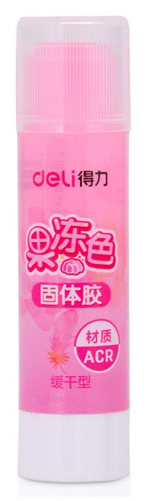 Клей-карандаш Deli 9626 8гр корп.ассорти/прозрачный дисплей картонный детский