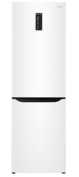 Холодильник LG GA-B429SQQZ,  двухкамерный,  белый