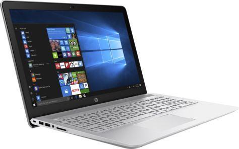 """Ноутбук HP Pavilion 15-cc532ur, 15.6"""", Intel  Core i7  7500U 2.7ГГц, 8Гб, 2Тб, 128Гб SSD,  nVidia GeForce  940MX - 4096 Мб, Windows 10, 2CT31EA,  серебристый"""