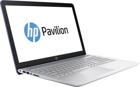 """Ноутбук HP Pavilion 15-cc534ur, 15.6"""", Intel  Core i7  7500U 2.7ГГц, 8Гб, 2Тб, 128Гб SSD,  nVidia GeForce  940MX - 4096 Мб, Windows 10, 2CT32EA,  синий"""