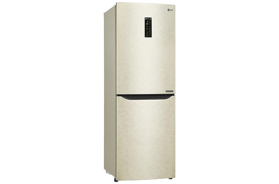 Холодильник LG GA-B389SEQZ,  двухкамерный,  бежевый