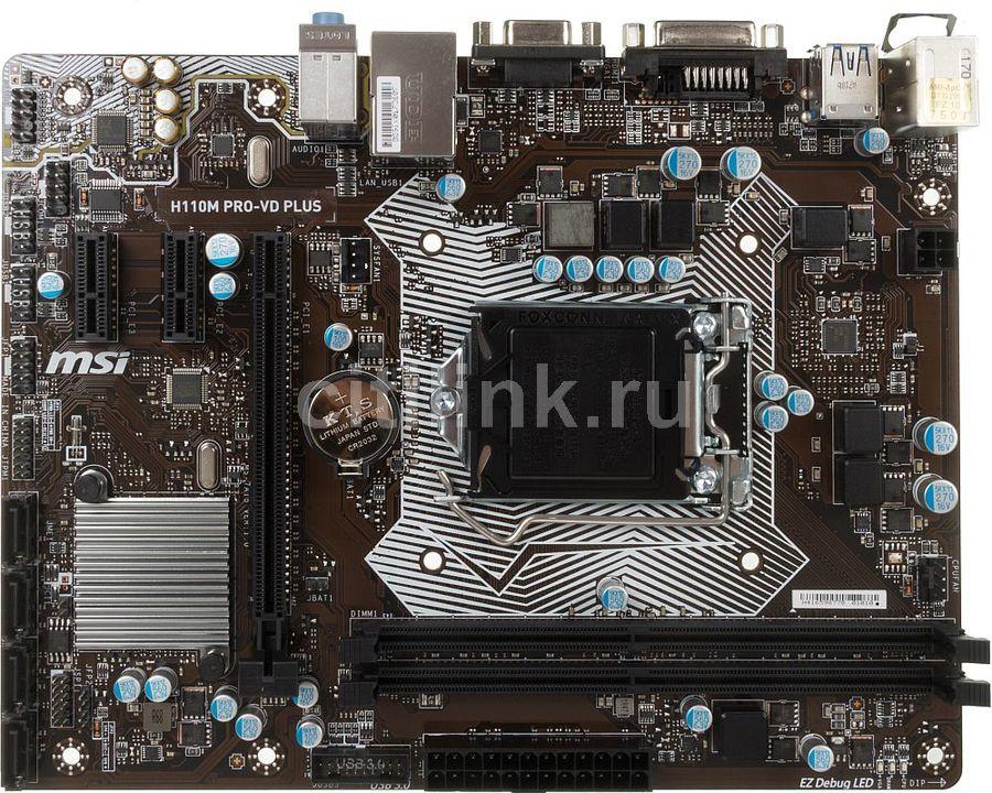 MSI H110M PRO-VD PLUS Treiber Windows 7