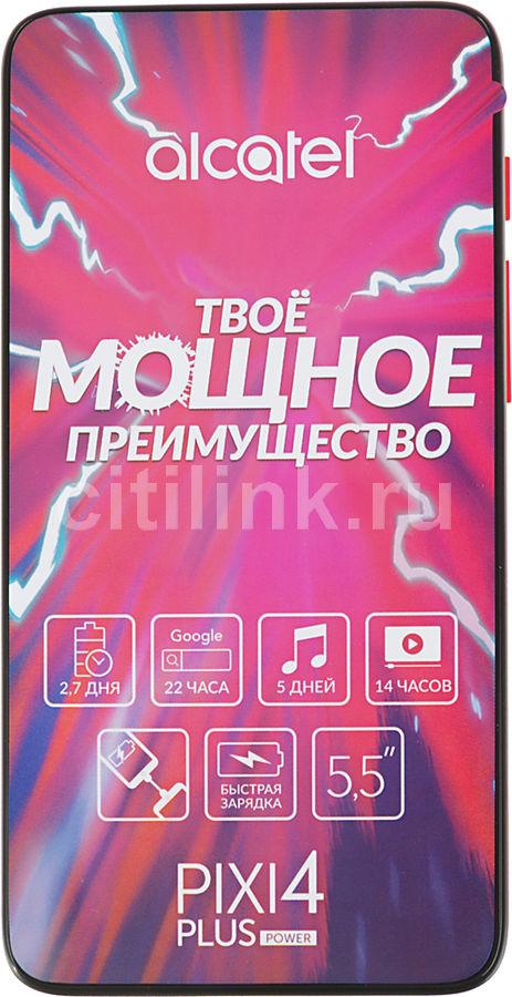 Смартфон ALCATEL Pixi 4 Plus Power 16Gb,  5023F,  белый