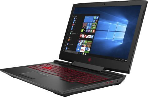Ноутбук HP Omen 17-an008ur, 1ZB16EA,  черный