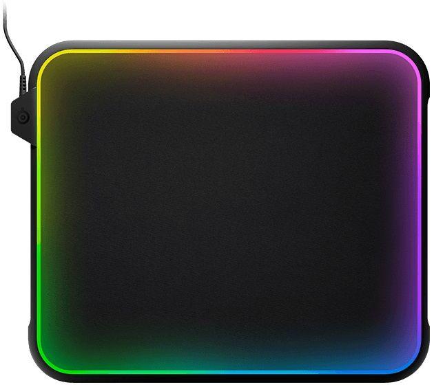 Коврик для мыши STEELSERIES QcK Prism черный [63391]