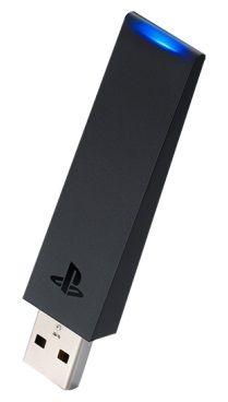 Адаптер SONY CUH-ZWA1E, для  PlayStation 4, черный [ps719844655]
