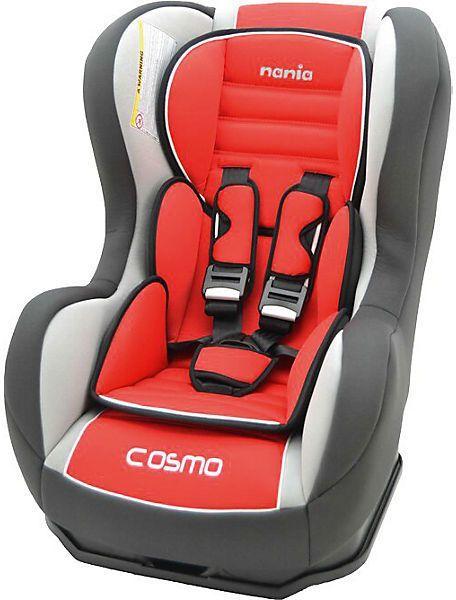 Автокресло детское NANIA Cosmo SP LX (agora carmin), 0+/1, красный/серый [083129]