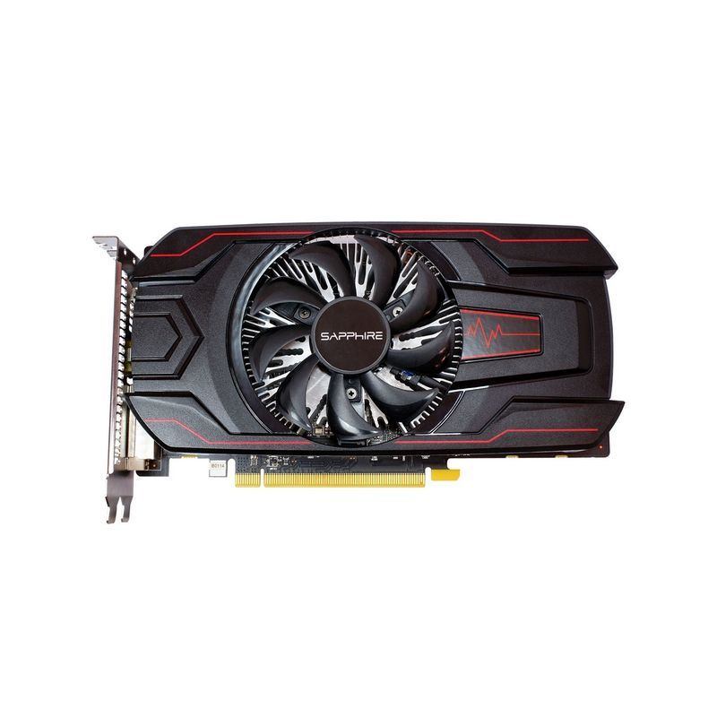 Видеокарта SAPPHIRE Radeon RX 560,  11267-02-20G PULSE RX 560 2G OC (UEFI),  2Гб, GDDR5, OC,  Ret