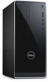 Компьютер  DELL Inspiron 3668,  Intel  Core i7  7700,  DDR4 12Гб, 1000Гб,  Intel GeForce GTX 1050 - 2048 Мб,  DVD-RW,  Windows 10 Home,  черный [3668-1806]