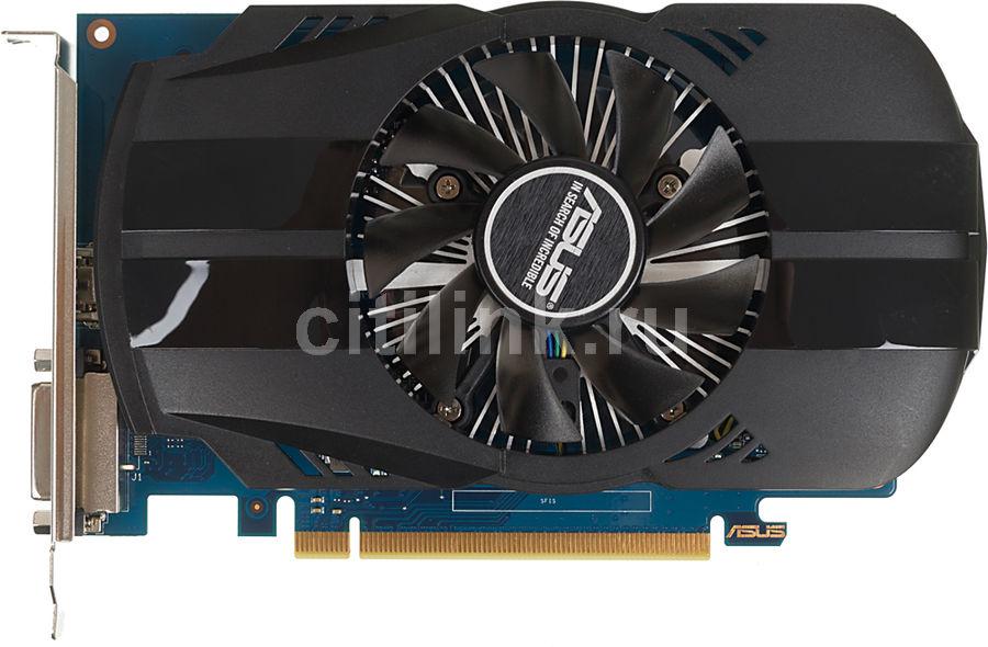 Видеокарта ASUS nVidia  GeForce GT 1030 ,  PH-GT1030-O2G,  2Гб, GDDR5, Ret