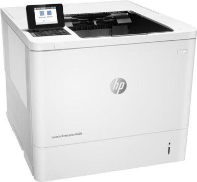 Принтер HP LaserJet Enterprise 600 M608n лазерный, цвет:  белый [k0q17a]