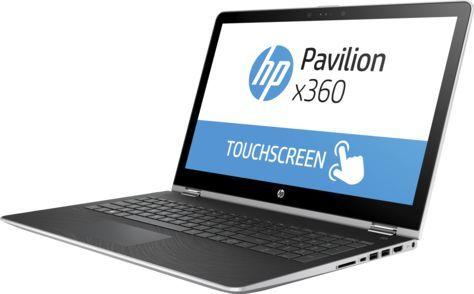 Ноутбук-трансформер HP Pavilion x360 15-br011ur, 1ZA56EA,  серебристый