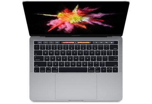 """Ноутбук APPLE MacBook Pro MNQF2RU/A, 13.3"""", Intel  Core i5  6267U 2.9ГГц, 8Гб, 512Гб SSD,  Intel Iris graphics  550, Mac OS Sierra, MNQF2RU/A,  серый"""