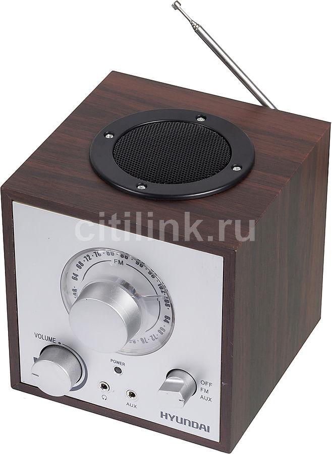 Радиоприемник HYUNDAI H-SRS100,  венге