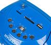 Аудиомагнитола HYUNDAI H-PAS160,  синий вид 8