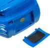 Аудиомагнитола HYUNDAI H-PAS160,  синий вид 10