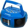 Аудиомагнитола HYUNDAI H-PAS160,  синий вид 1