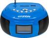 Аудиомагнитола HYUNDAI H-PAS160,  синий вид 3