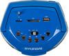Аудиомагнитола HYUNDAI H-PAS160,  синий вид 4