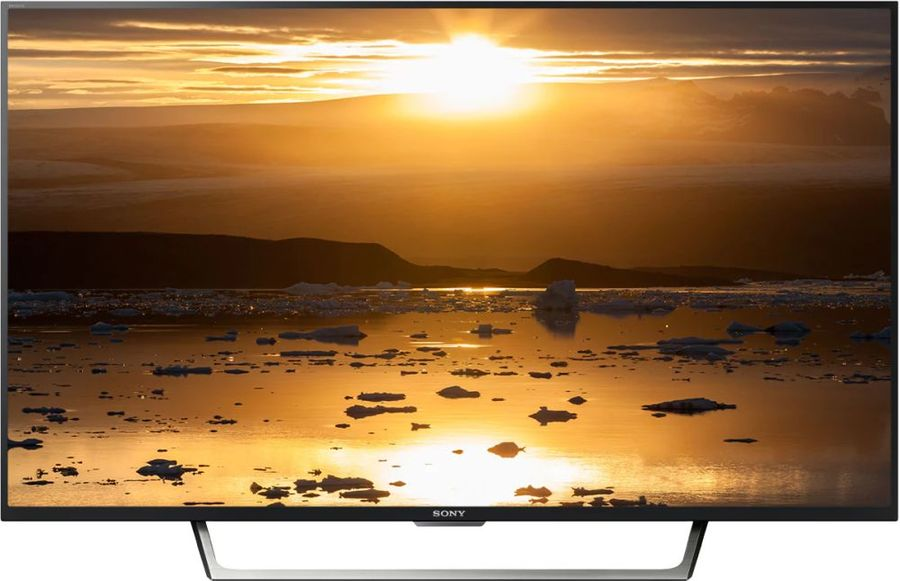 "Телевизор LED Sony 43"" KDL43WE755BR BRAVIA черный/серебристый/FULL HD/400Hz/DVB-T/ (отремонтированный)"