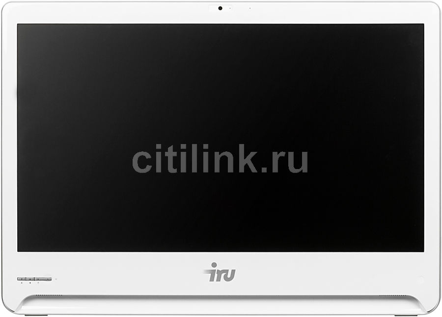 Моноблок IRU Office S2302, Intel Core i3 5005U, 4Гб, 1Тб, Intel HD Graphics 5500, DVD-RW, Windows 10 Professional, белый [481283]