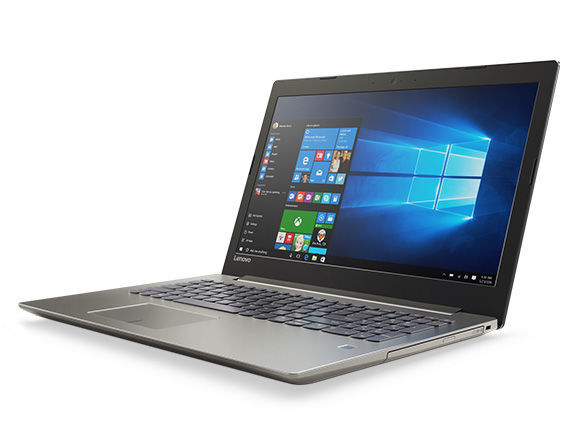 "Ноутбук LENOVO IdeaPad 520-15IKB, 15.6"", Intel  Core i3  7100U 2.4ГГц, 8Гб, 1000Гб, nVidia GeForce  940MX - 2048 Мб, Windows 10, 80YL00NFRK,  бронзовый"