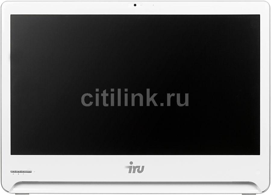 Моноблок IRU Office S2301, Intel Core i5 5200U, 4Гб, 1Тб, Intel HD Graphics 5500, DVD-RW, Windows 10 Home, белый [481306]
