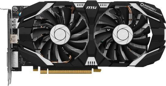 Видеокарта MSI GeForce GTX 1060,  GTX 1060 3GT,  3Гб, GDDR5, Ret